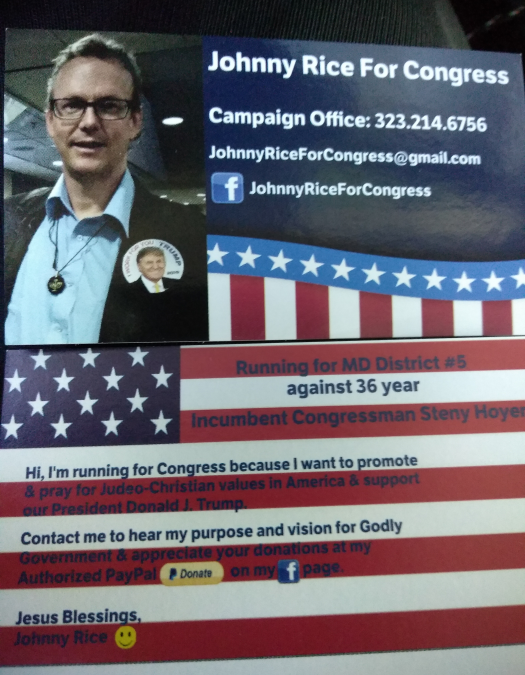 Johnny Rice for Congress