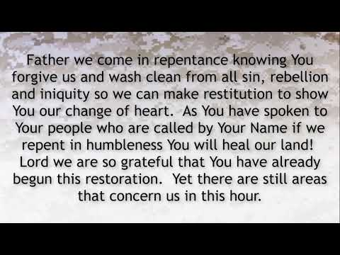PRAYER FOCUS: WE SEEK RESTORATION NOT REVIVAL!
